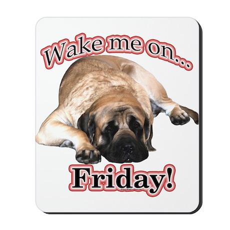 Mastiff Friday Mousepad