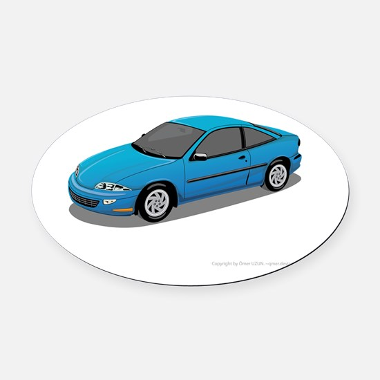 Toyota Prius car Oval Car Magnet