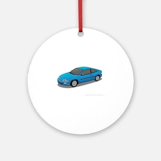 Toyota Prius car Round Ornament