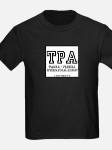 AIRPORT CODES - TPA - TAMPA, FLORIDA T-Shirt