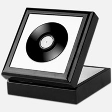 Vinyl disc record Keepsake Box