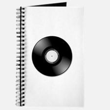 Vinyl disc record Journal