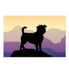 Purple Mountains Affenpin Postcards (Package of 8)