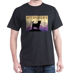 Purple Mountains Affenpinscher T-Shirt