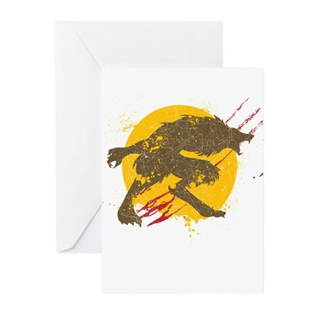 The Werewolf Greeting Cards (Pk of 20)