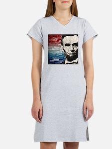 Patriot Abraham Lincoln Women's Nightshirt