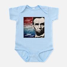 Patriot Abraham Lincoln Infant Bodysuit