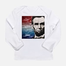 Patriot Abraham Lincoln Long Sleeve Infant T-Shirt