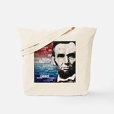 Patriot Abraham Lincoln Tote Bag