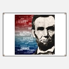 Patriot Abraham Lincoln Banner