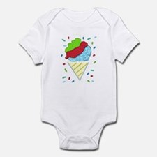 Snow Cone Confetti Infant Bodysuit