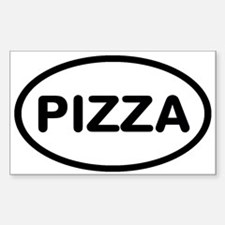 Unique Pizza Decal