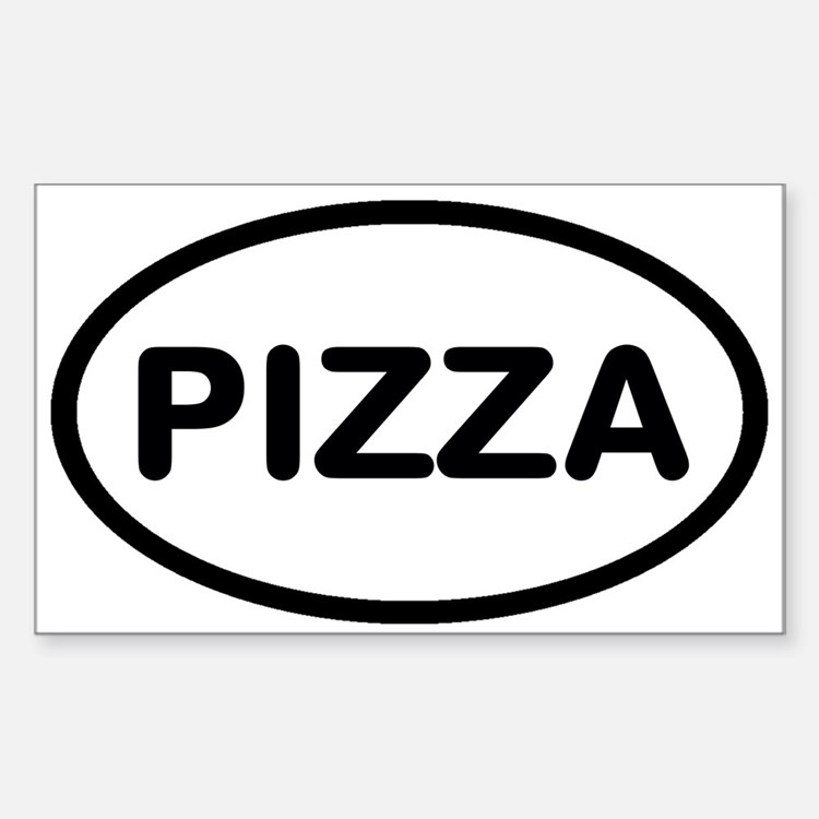 Cute Pizza Decal