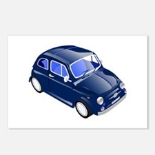 Little small car saves ga Postcards (Package of 8)