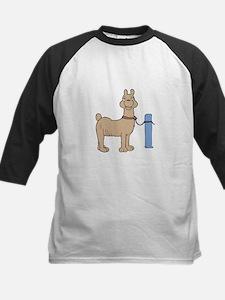 Llama cartoon Baseball Jersey