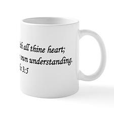"""""""Trust in the Lord"""" Mug"""