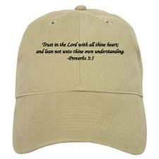 """Trust in the Lord"" Baseball Cap"