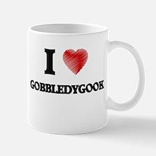 I love Gobbledygook Mugs