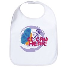 Cool Cochlear implant Bib