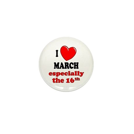 March 16th Mini Button (100 pack)