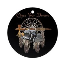 Chase Your Dreams Ornament (Round)