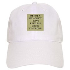 sex addict gifts t-shirts Baseball Cap