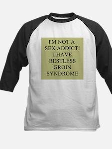 sex addict gifts t-shirts Kids Baseball Jersey