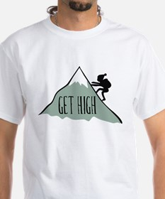 Get High: Mountain Climbing Shirt