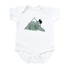 Get High: Mountain Climbing Infant Bodysuit