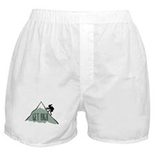 Get High: Mountain Climbing Boxer Shorts