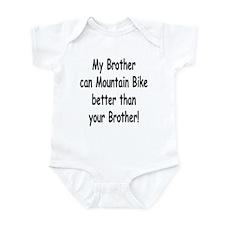 Cute Infant mountain biker Infant Bodysuit