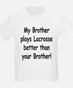brother lacrosse T-Shirt