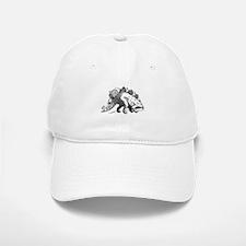 Dinosaur stegosaurus Baseball Baseball Cap