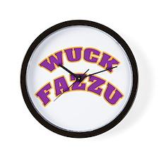 WUCK FAZZU Wall Clock