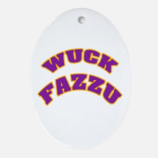 WUCK FAZZU Oval Ornament