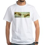 Freedom is a Divine Gift White T-Shirt