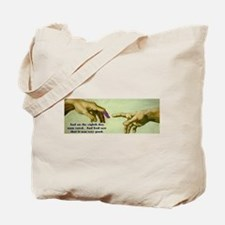 Freedom is a Divine Gift Tote Bag