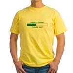 DISHES LOADING... Yellow T-Shirt