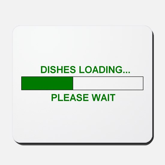 DISHES LOADING... Mousepad
