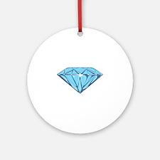 Diamond Round Ornament