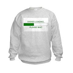 DISHES LOADING... Sweatshirt