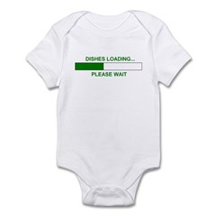 DISHES LOADING... Infant Bodysuit