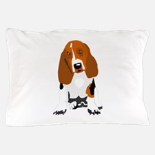 Bassett hound Pillow Case