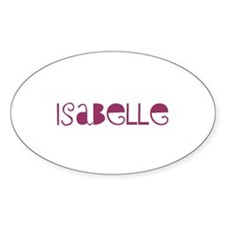 Isabelle Oval Decal