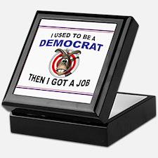 DEMOCRAT STUFF Keepsake Box