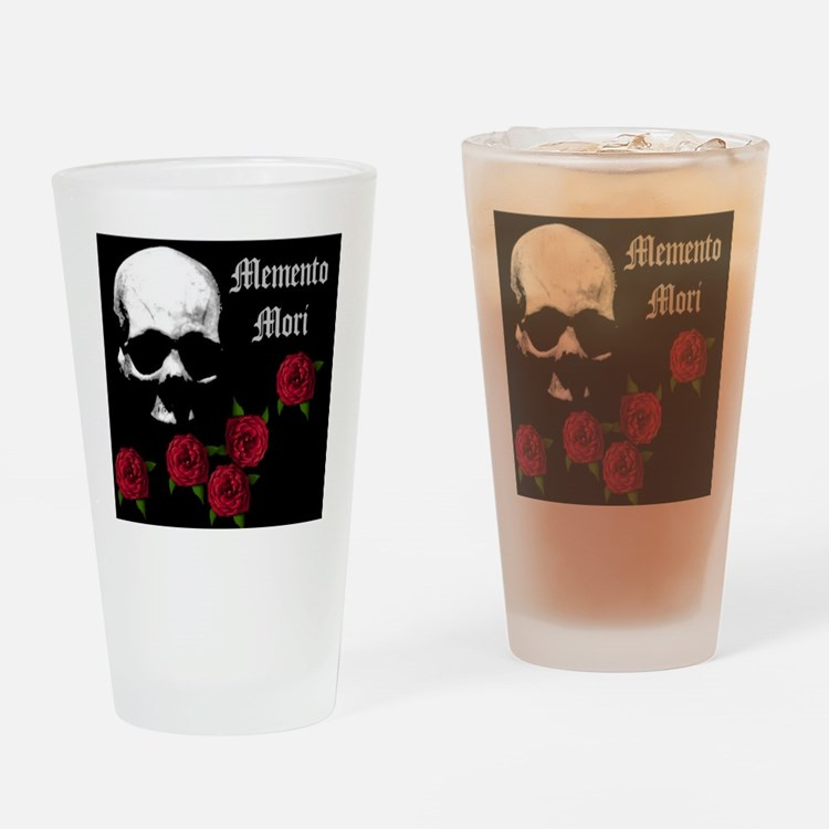 mementomori.jpg Drinking Glass