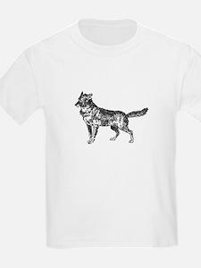 Jackal silhouette T-Shirt