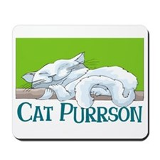 Cat Purrson Mousepad