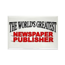 """The World's Greatest Newspaper Publisher"" Rectang"
