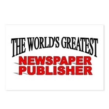 """The World's Greatest Newspaper Publisher"" Postcar"